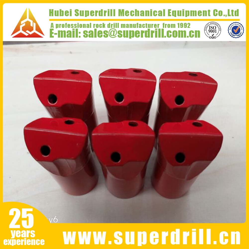 32mm 7degree taper horse type chisel drill bit with carbide